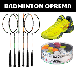 Badminton oprema